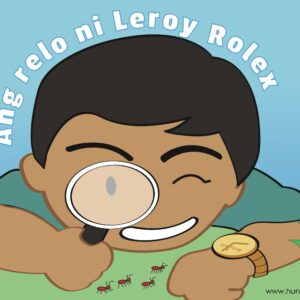 Cebuano tongue twister - Relo (colored)
