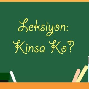 Leksiyon Kinsa Ko Self-introduction lesson plan