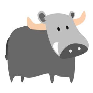 flashcard-color-animal-water-buffalo-carabao-kabaw