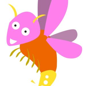 flashcard-color-insect-firefly-aninipot