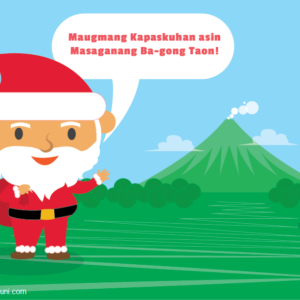 Santa Claus Bikolano Filipino Dialect