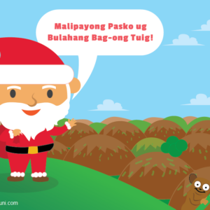 Santa Claus Cebuano Filipino Dialect