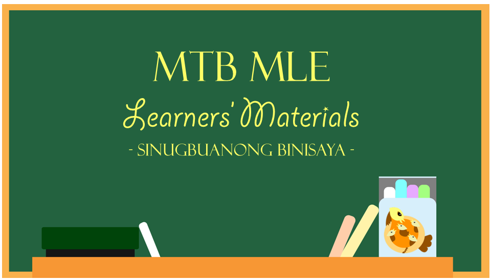 Mtb Mle Sinugbuanong Binisaya Learners Materials on Kindergarten Math Worksheets