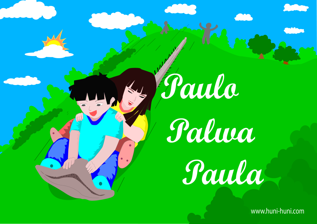 Paulo Palwa Paula colored