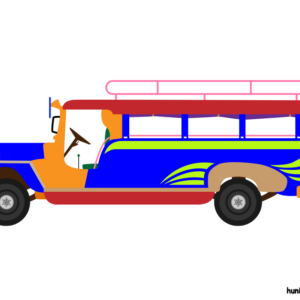 huni-huni-flashcard-jeepney-colored