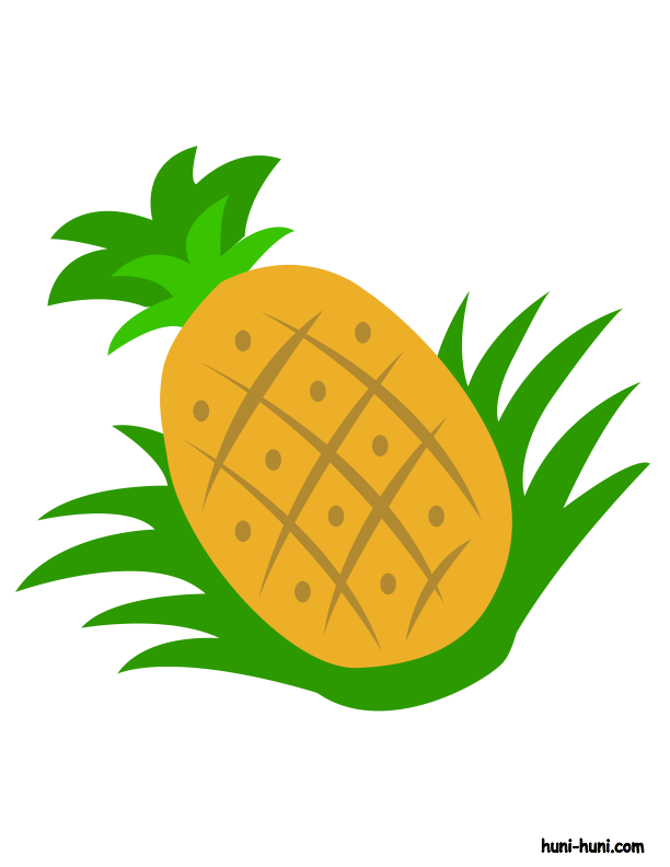 huni-huni-flashcard-colored-pinya-pineapple