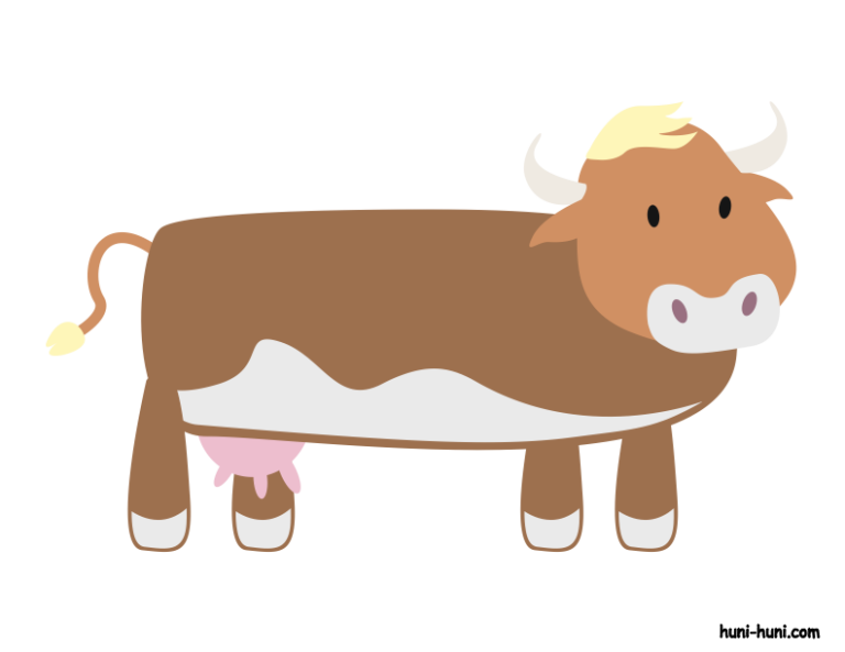 huni-huni-flashcard-colored-baka-cow