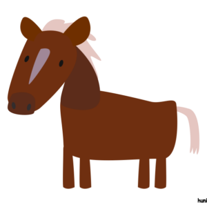 huni-huni-flashcard-kabayo-horse-colored2