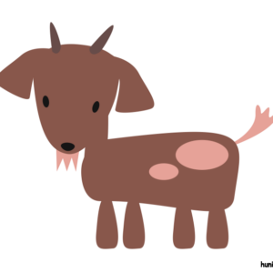huni-huni-flashcard-kanding-goat-colored