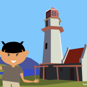 huni-huni-flashcard-philippines-BascoLighthouse-Batanes-colored