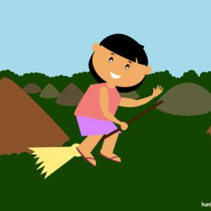 huni-huni-flashcard-philippines-chocolatehills-bohol-colored