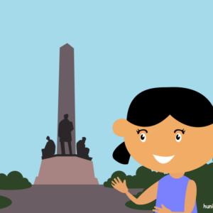 huni-huni-flashcard-philippines-rizalpark-luneta-manila-colored