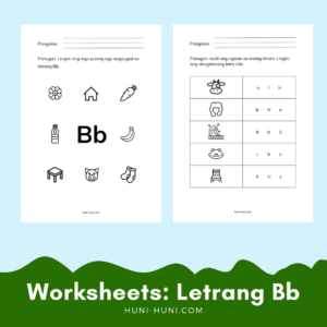 letrang Bb Sinugbuanong Binisaya worksheets